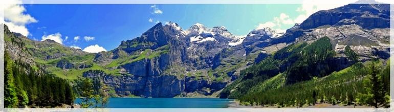 Kandersteg - Lake Oeschinen