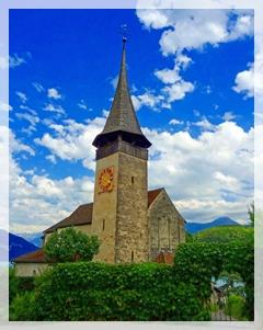 Church of St. Columba- Spiez , Switzerland