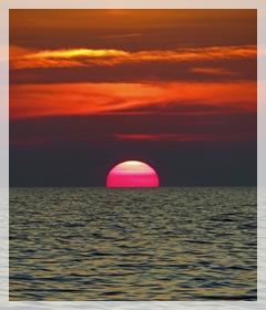 Wiggens pass sunset