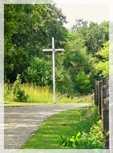roadside cross - Old World Wisconsin