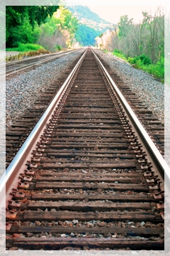 train tracks - Galena IL