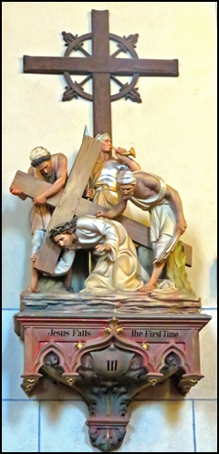 Station of Cross 3 - loretto - santa fe NM