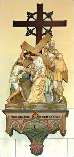 Station of the Cross - V - Loretto