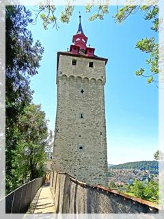 Lucerne - city wall