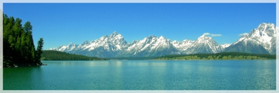 The Grand Tetons - Jackson Lake