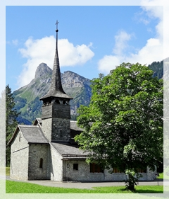 Kandersteg church - Switzerland