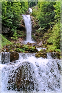 giesbach falls - switzerland