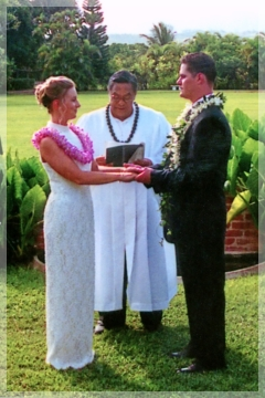 kaui wedding