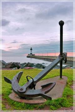 duluth MN harbor - anchor