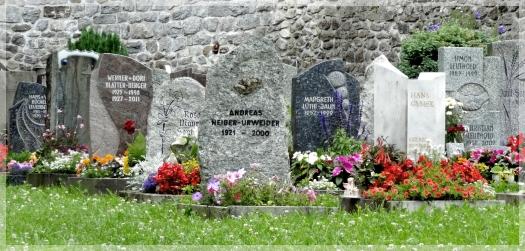 michaelkirsch cemetery - meringen switzerland
