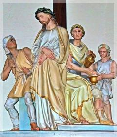 pontius pilate - washing hands