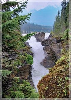athabasca falls - canada