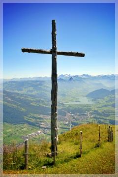 Mt. Rigi cross
